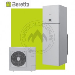 Cambiocaldaiaonline.it Beretta kit Tower Green he Hybrid (35kW risc.to/sanit. + bollitore 200lt + pdc HYDRONIC UNIT LE 4 B) Cod: 20103221+20104212-20