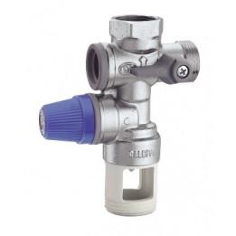 """Cambiocaldaiaonline.it CALEFFI Gruppo di sicurezza per boiler con intercettazione e valvola di ritegno controllabile (Attacco 1/2"""" e 3/4"""") Cod: 5261-20"""