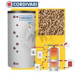 Cambiocaldaiaonline.it CORDIVARI Kit bollitore COMBI 3 + pannelli solari da 500 a 2000 lt capacità + Pellet Cod: 341031661290.-20
