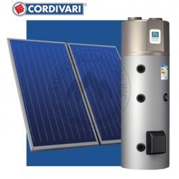 Cambiocaldaiaonline.it Cordivari Sistema Termico Solare BOLLYTERM HP 1 300 lt (-5°/43°C) completo collettori 2 x 2.5 mq Cod: 34103166174407-20