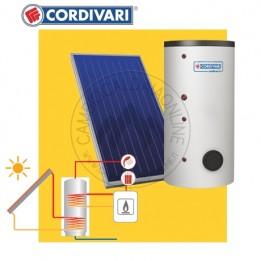 Cambiocaldaiaonline.it Cordivari SISTEMA TERMICO SOLARE B2 da 150 lt (BOLLY 2ST da 150 lt + 1 collettori x 2.5 mq + tetto falda + 1-3 pp) Cod: 3410316618532-20
