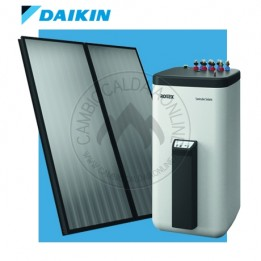 Cambiocaldaiaonline.it DAIKIN (ROTEX) kit solare DB SOLARIS 2 x V26/500 (Bollitore + Pannelli) Cod: 160601-20