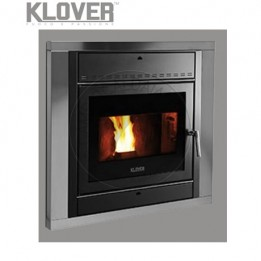 Cambiocaldaiaonline.it Klover Inserto Idro a Pellet FIRE PLACE 22 24 kW Cod: PFP2-20