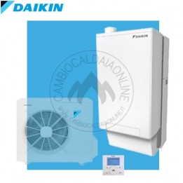 Cambiocaldaiaonline.it DAIKIN (ROTEX) Set solo interne HPU Hybrid 8kW H/O (33kW riscald.to + sanitaria istananea) SENZA UNITA ESTERNA Cod: SB.I-HBH08/33A2-20