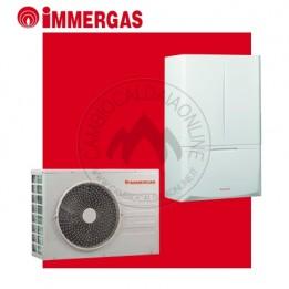 Cambiocaldaiaonline.it IMMERGAS pompa di calore splittata MAGIS PRO 5 / 8 / 10 ErP (tmax 60°C) Cod: 3.02569-20