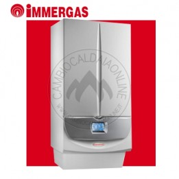 Cambiocaldaiaonline.it IMMERGAS MAGIS VICTRIX ErP (23,6kW riscald.to + 26kW sanitario + 12,4 lt/min) Cod: 3.025615-20