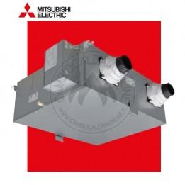 Cambiocaldaiaonline.it MITSUBISHI Recuperatore di calore VMC centralizzata VL-220CZGV-E (220 mc/h portata aria + 86% efficienza + 14 db(A) + Lossnay) Cod: VL-220CZGV-E-20