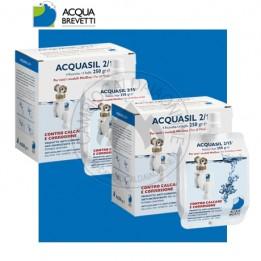 Cambiocaldaiaonline.it Acqua Brevetti acquaSIL 2/15 doppia ricarica per Pompa Dosatrice anticorrosivo antincrostante acquaSIL 2/15 (8 totali x 250g) DUE SCATOLE Cod: PC100.-20