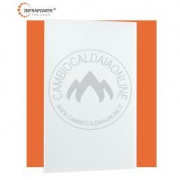 Cambiocaldaiaonline.it SUNSHINE 600 VETRO BIANCO pannello radiante da parete (600W Termici + Dimensione 60x90 cm) Cod: VCIR600GW-20