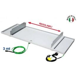 Cambiocaldaiaonline.it Tecnosystemi Bacinelle raccolta condensa con resistenze anticongelamento Cod: 1110010-20