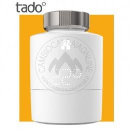 Cambiocaldaiaonline.it TADO° Heating Singola Testina Termostatica Intelligente (c/adattatori geo localizzatore WiFi) Cod: 4260328610589-20