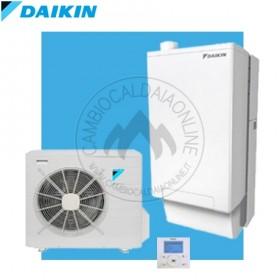 DAIKIN HPU Hybrid 5 / 8kW H/O Kit ibrido completo int/est (u.est 1.12 / 2.54kW elett + u.int 5.12/10.02kW term + 33kW risc+acs) SOLO CALDO / CALDO & FREDDO