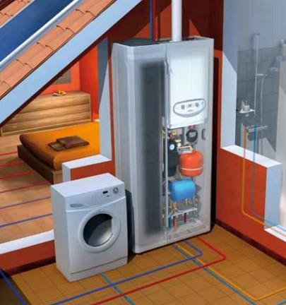 Immergas armadio tecnico domus container da interno - Caldaia da interno ...