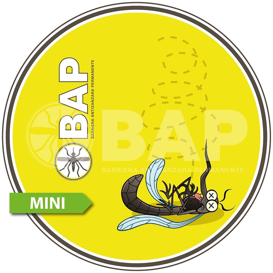 Cambiocaldaiaonline.it BAP miniBAP (no zanzariera) BARRIERA ANTIZANZARE PERMANENTE TERRAZZI/GIARDINI (fino a 1000mq) kit base fornito in opera* incluso 1 anno di manutenzione Cod: MINIBAP-332
