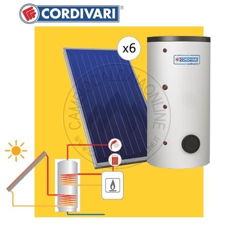 Cordivari SISTEMA TERMICO SOLARE B2 da 1000 lt (BOLLY 2ST da 1000 lt ...