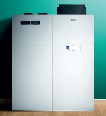 Cambiocaldaiaonline.it VAILLANT Vaillant pompa di calore aria-acqua recoCOMPACT monoblocco da interno con ventilazione e bollitore (3-5-7kW) Cod: 001003186-38