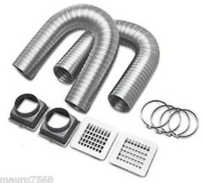Piros kit 3 a ventilazione per canalizzazione aria calda - Canalizzazione aria calda stufe a pellet ...
