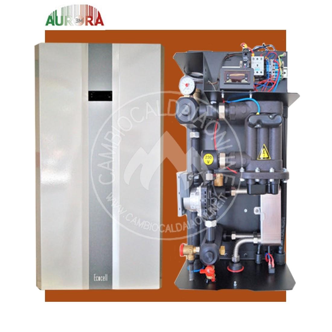 Cambiocaldaiaonline.it AURORA 3M AURORA 3M ECOCELL Caldaia Ionica monofase 3/6 kWp (4.5/9.0kW termici) trifase 9/25kWp (13.50/37.50kW termici) solo riscaldamento Cod: Aurora base-340