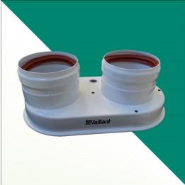 Cambiocaldaiaonline.it Vaillant sdoppiatore scarico fumi ⌀ 80/80 mm per turboMAG plus Cod: 0020207070-20