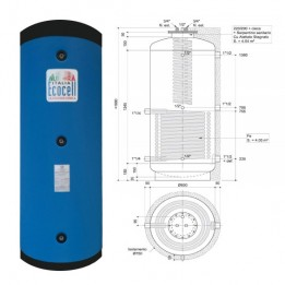 Cambiocaldaiaonline.it AURORA 3M ECOCELL PUFFER SPECIALI (500 lt + acs 4.45mq) Cod: PFS 500 R SPECIAL-20