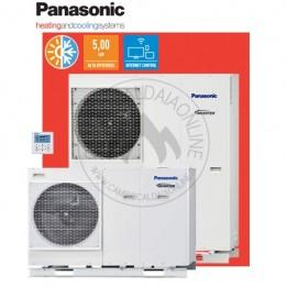 Cambiocaldaiaonline.it Panasonic Aquarea Alta Connettività Monoblocco Generazione H Monofase. Risc.to e Raffr. MDC Cod: WH-MDC-20