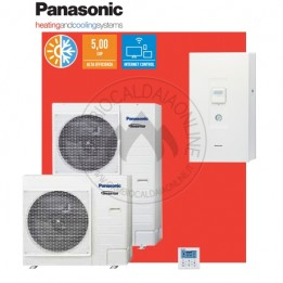Cambiocaldaiaonline.it Panasonic Aquarea Alta Connettività Split Generazione H Mono/Trifase. Risc.to e Raffr. SDC Cod: WH-SDC+WH-UD-20