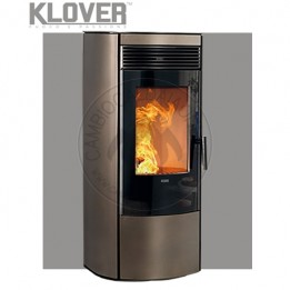 Cambiocaldaiaonline.it Klover stufa a pellet air / multiair AURA 80 gas 7,8 kW Cod: A-20