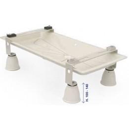Cambiocaldaiaonline.it Tecnosystemi Supporto a pavimento INFINITY + bacinella BLUE RIVER + piedino GENIUS 1000R regolabile Cod: SCD5000-20