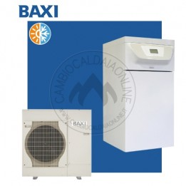 Cambiocaldaiaonline.it BAXI Sistema Split PBS-i (u.est da 0.87 a 3.47 kW elett + u.int da 3.94 a 14.65 kW term + acs 177lt + Tmax 60°C) CALDO and FREDDO Cod: PC0002-20