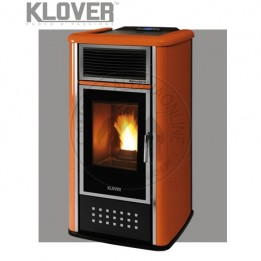 Cambiocaldaiaonline.it Klover termostufa a pellet BELVEDERE 18 A/AV 18.4 kW Cod: BV18-20