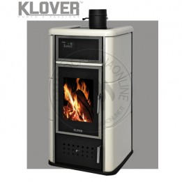 Cambiocaldaiaonline.it Klover termostufa a legna / thermo BELVEDERE 20 20.6 kW Cod: NBV20-20