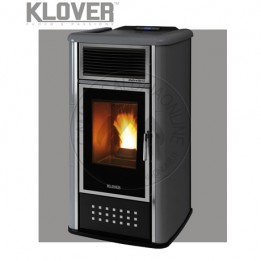 Cambiocaldaiaonline.it Klover termostufa a pellet BELVEDERE 22 TOP A/AV/AP/APV 20 KW Cod: BV22TOP-20