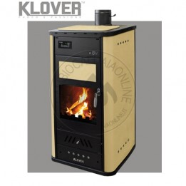 Cambiocaldaiaonline.it Klover termostufa a legna / thermo BELVEDERE 30 30.6 kW Cod: NBV-20