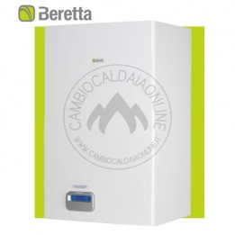 Cambiocaldaiaonline.it Beretta EXCLUSIVE BOILER GREEN HE 35 B.S.I. (35kW riscald.to/sanitario + 60lt) Cod: 20031609-20