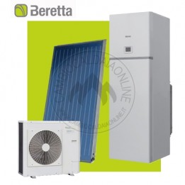 Cambiocaldaiaonline.it Beretta kit Tower Green he Hybrid S (35kW risc.to/sanit. + bollitore 200lt + collettore piano SCF-25B+ pdc HYDRONIC UNIT LE 4 B) Cod: 20103221+20092677+20095375 kit-20