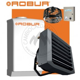 Cambiocaldaiaonline.it NOLEGGIO ROBUR Caldaria° 35 TECH SMART ACS (Caldaia 33kW + Aerotermo 35kW da 3.000 mc/h + Miscelatore 10.000 mc/h + h 7mt * 170mq * 1020mc) Cod: F1292S110+E 3M-20