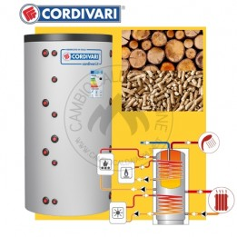 Cambiocaldaiaonline.it CORDIVARI Kit bollitore COMBI 3 + pannelli solari da 500 a 2000 lt capacità + Legna/pellet Cod: 3410316612902 legna/pellet-20