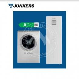 Cambiocaldaiaonline.it JUNKERS COMPRESS 7000 AW M/MS con bollitore integrato (u.est da 5 a 17kW termici da 230 a 400V + u.int 230V) Cod: 7 735 25-20