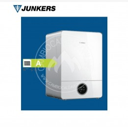 Cambiocaldaiaonline.it Junkers CONDENS 9000i W (20/30 kW solo riscaldamento) NERA/BIANCA Cod: 7 736 701-20