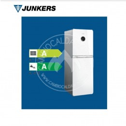 Cambiocaldaiaonline.it Junkers CONDENS 9000i WM (20/29 kW risc.to + 30 kW ACS) NERA/BIANCA Cod: 7738100-20