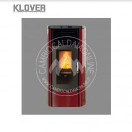 Cambiocaldaiaonline.it Klover Stufa a pellet air DEA 6.8 kW Cod: SA8-20
