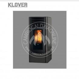 Cambiocaldaiaonline.it Klover Stufa a Pellet ad aria DEA ECO 6 / 8 / 12 da 5,6 a 9,6 kW Cod: SE-20