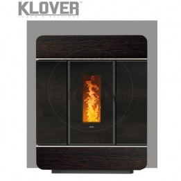 Cambiocaldaiaonline.it Klover termostufa a pellet / thermo DIVA SLIM WOOD 18,4kW Cod: DSLW-20