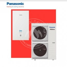 Cambiocaldaiaonline.it Panasonic Aquarea T‑CAP Split Generazione H Monofase / Trifase. Risc.to e Raffr. SXC Cod: WH-SXC+WH-UX-20