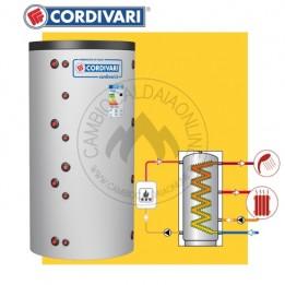 Cambiocaldaiaonline.it Cordivari ECO-COMBI 1 VB HE (Vol da 421 a 738 lt + H= da 1620 a 1870 D=750 / 950 mm) Cod: 327016231601-20