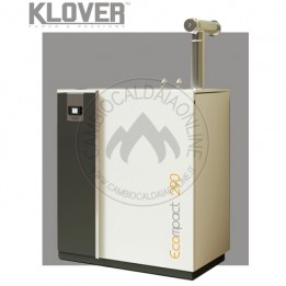 Cambiocaldaiaonline.it Klover caldaia a pellet ECOMPACT mod. da 150 e 290 da 14,6 a 29.4 kW Cod: EC-20