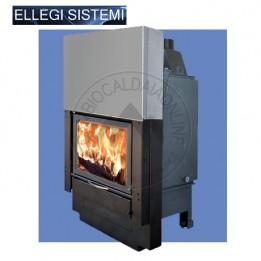 Cambiocaldaiaonline.it ELLEGI Termocamino a Legna ENVIRON L/LS (solo risc) 15 kW Cod: 0.915.022.15-20