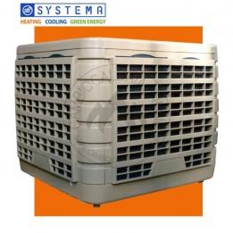 Cambiocaldaiaonline.it SYSTEMA Raffrescatore Evaporativo FRESCO FR18 (volume trattabile 18.000 mc/h + H 4 mt * 500 mq * 2000 mc) Cod: FR18-20