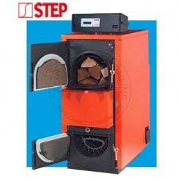 Cambiocaldaiaonline.it STEPCLIMA Caldaia combinata legna/pellets FUEGO DUO TECH INOX solo risc./sanitario (da 33 kW a 67 kW) Cod: FU-20