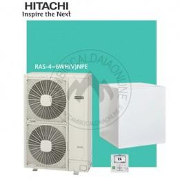 Cambiocaldaiaonline.it HITACHI Sistema Split YUTAKI S80 RWH da 4.0 a 6.0 VNFE (u.est da 3.79 a 5.86 kW elett + u.int da 11 a 16 kW term + Tmax 65°/ 7°) SOLO CALDO Cod: RWH-20